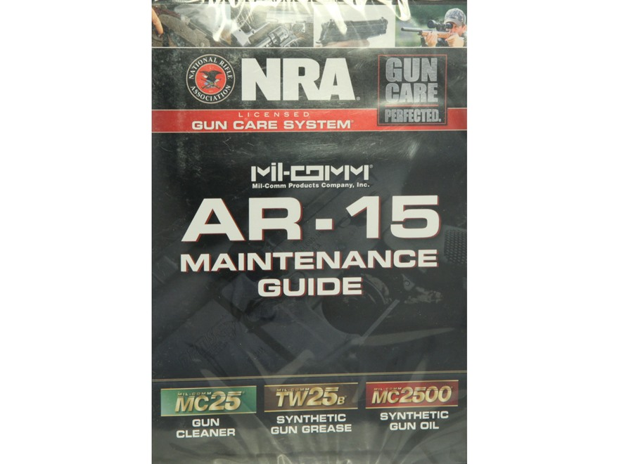 NRA Licensed Gun Care System By Mil-Comm AR-15 Maintenance DVD