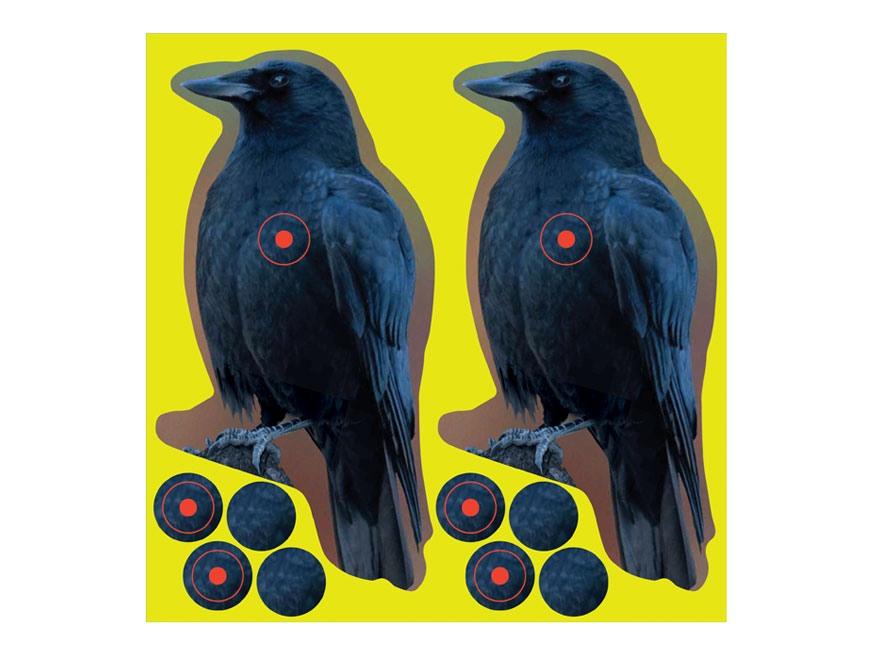 "Birchwood Casey Shoot-N-C Crow Targets 8"" Pack of 12"