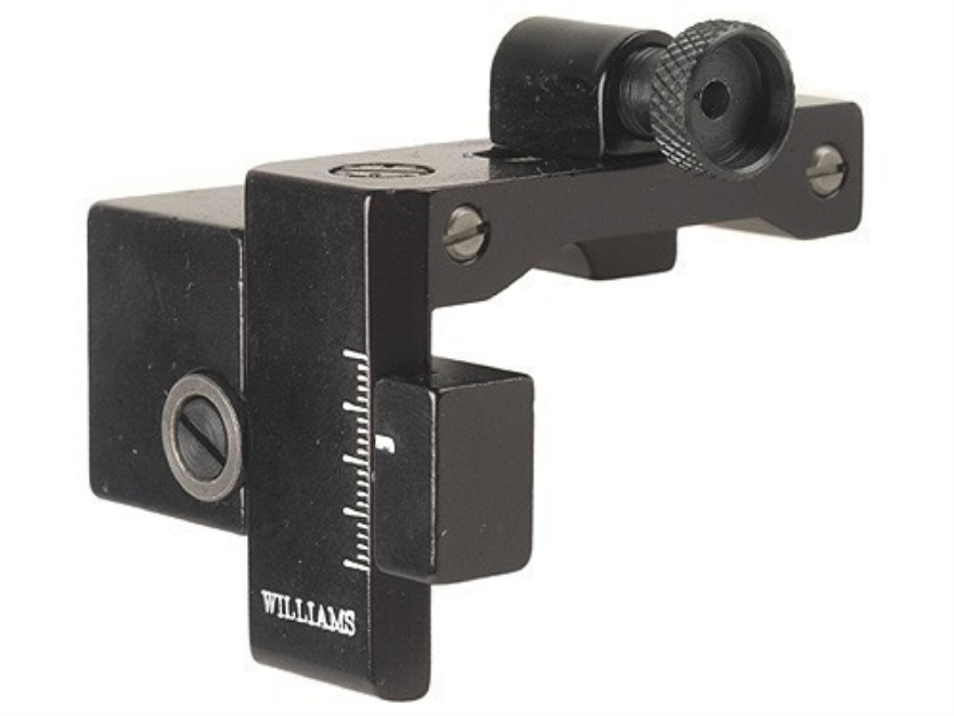 Williams FP-94SE Receiver Peep Sight Winchester 94 Angle Eject Aluminum Black