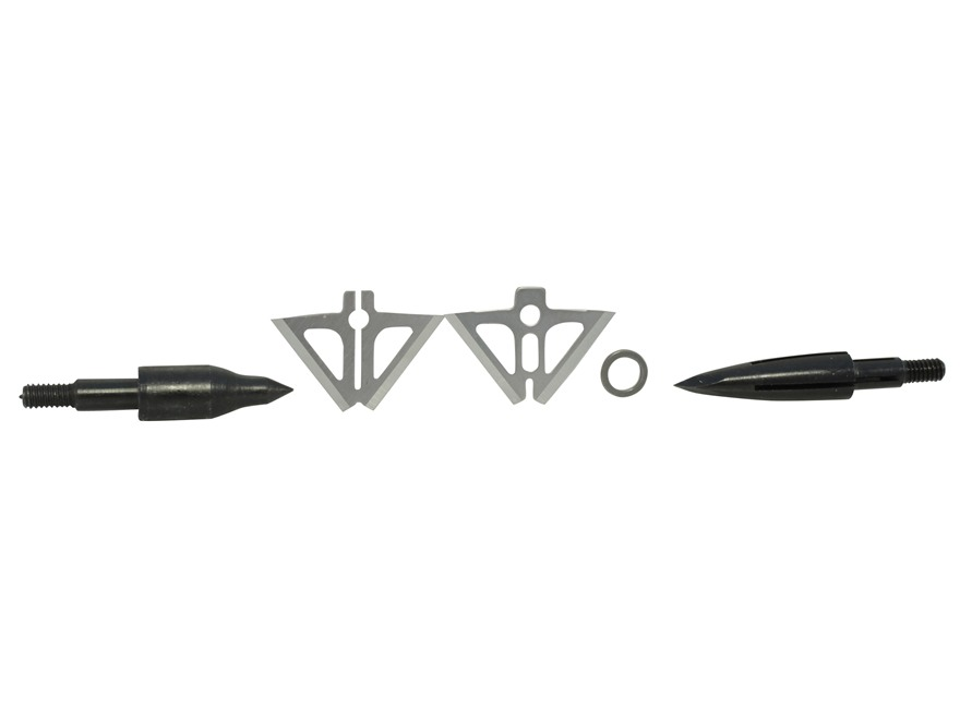Slick Trick Xbow Trick Fixed Blade Broadhead 150 Grain Stainless Steel Pack of 3