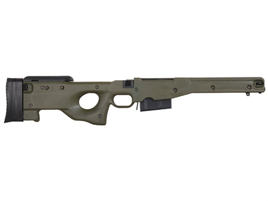 Accuracy International Chassis System (AICS) 1.5 Adjustable Stock Remington 700 Long Ac...