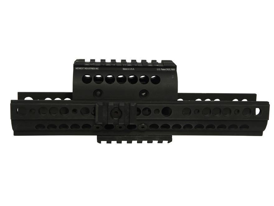 Midwest Industries SS-Series 2-Piece Extended Modular Rail Handguard AK-47, AK-74 Aluminum