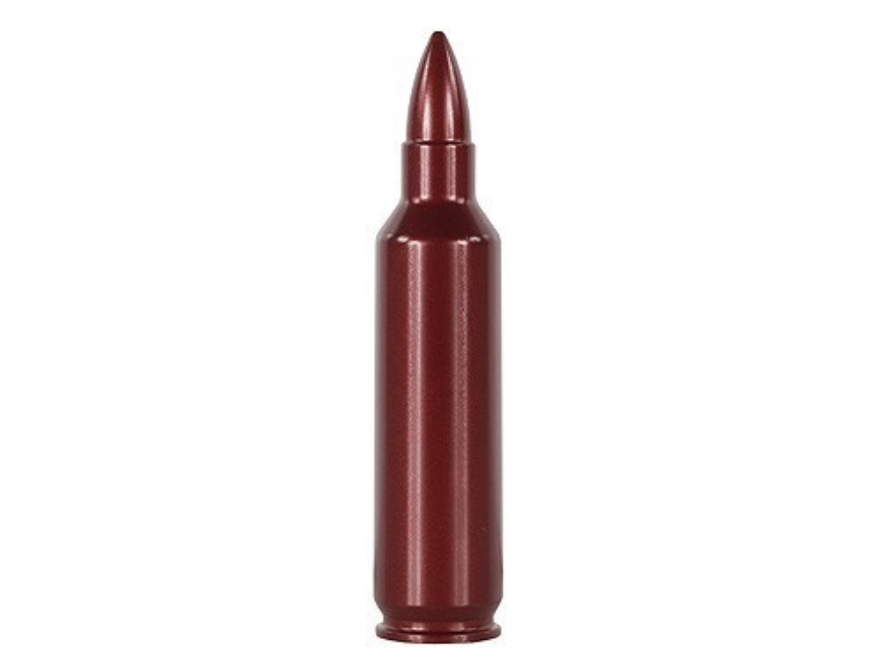 A-ZOOM Action Proving Dummy Round, Snap Cap 7mm Winchester Short Magnum (WSM) Aluminum Pack of 2