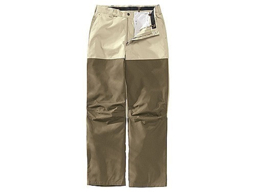 "Beretta Men's Cordura/Poplin Pants Cotton and Cordura Tan 34 Waist 30"" Inseam"