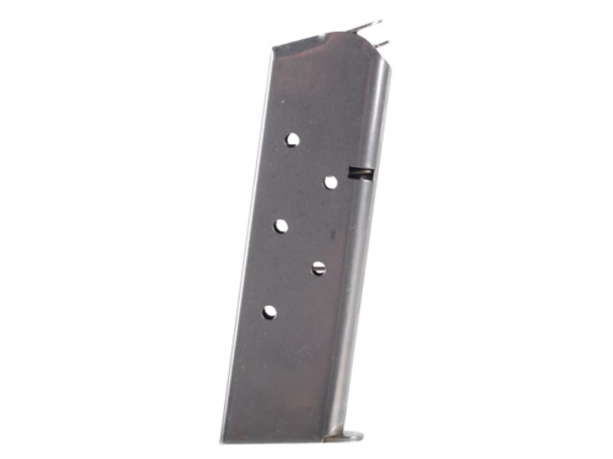 Wilson Combat Service Magazine 1911 Government, Commander 45 ACP 7-Round Steel Stainless Steel