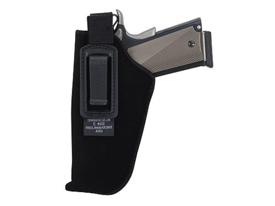 "BlackHawk Inside the Waistband Holster with Retention Strap  Medium Frame Semi-Automatic 3"" to 4"" Barrel Ultra-Thin 4-Layer Laminate Black"