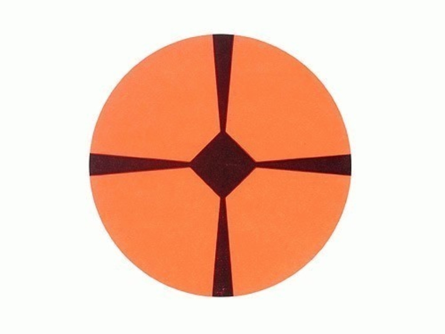 Lyman Accupoint Target Dots Self-Adhesive Red