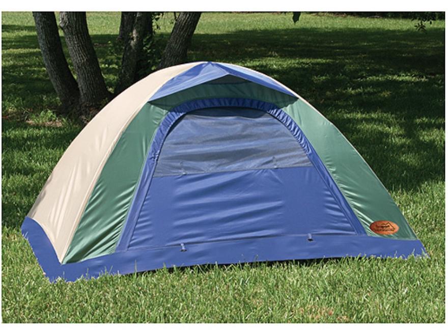"""Texsport Brookwood Internal Frame 2 Man Dome Tent 6' x 4'2""""  x 36' Polyester Legion Blu..."""