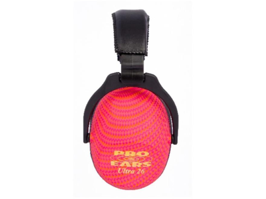 Pro Ears ReVO Earmuffs (NRR 26 dB) Pink Cosmic