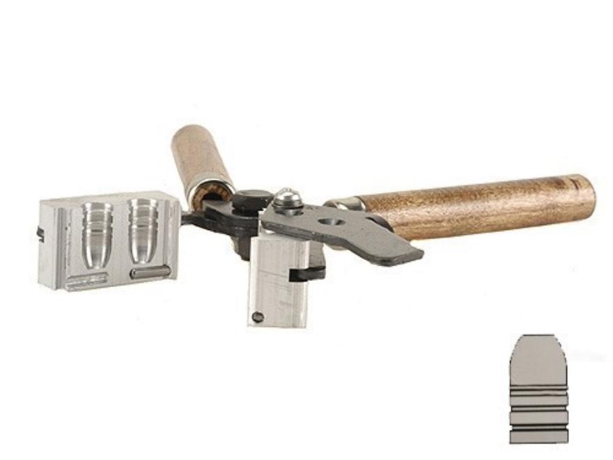 Lee 2-Cavity Bullet Mold 457-340-F 45-70 Government (457 Diameter) 340 Grain Flat Nose