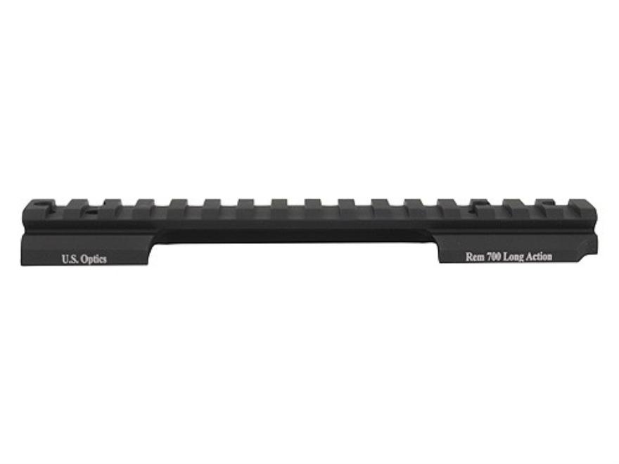 U.S. Optics 1-Piece 20 MOA Picatinny-Style Scope Base Remington 700 Long Action Matte
