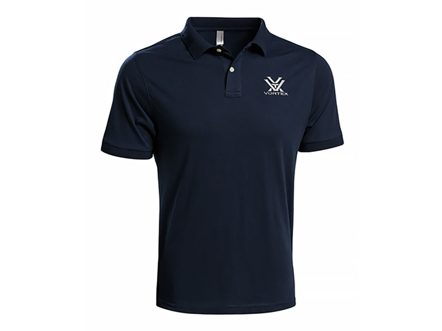 vortex optics men 39 s polo shirt short sleeve cotton