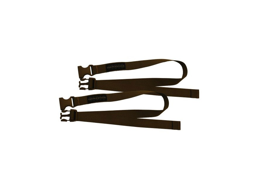 "Eberlestock Acessory Straps 1"" x 24"" Nylon Dry Earth Pack of 2"