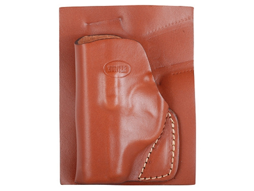 Hunter 2500 Pocket Holster Right Hand Kahr P380 Leather Brown