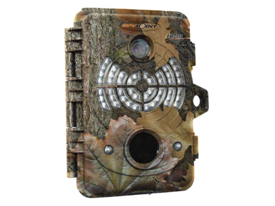 Spypoint IR-10 Infrared Digital Game Camera 10.0 MP with Viewing Screen Spypoint Dark Forest Camo