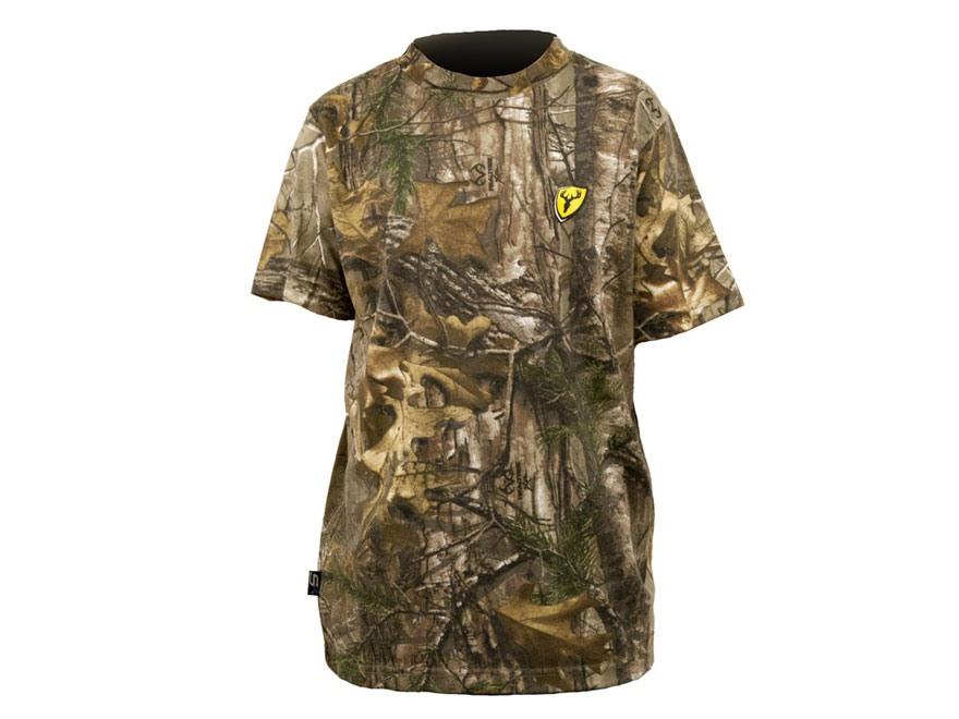 ScentBlocker Men's Performance Cotton T-Shirt Short Sleeve Cotton & Polyester Blend