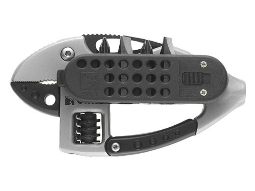 "CRKT Guppie Multi-Tool 2"" Stainless Steel Blade Stainless Steel Handle"