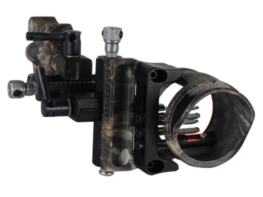 "Extreme Recon 1550 4-Pin Bow Sight .019"" Pin Diameter Right Hand Aluminum Realtree AP Camo"