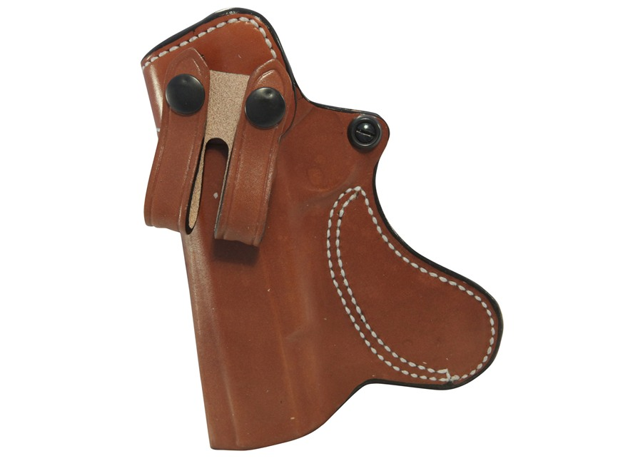 "DeSantis Inner Piece Inside the Waistband Holster Springfield 1911-A1 5"" Leather Tan"