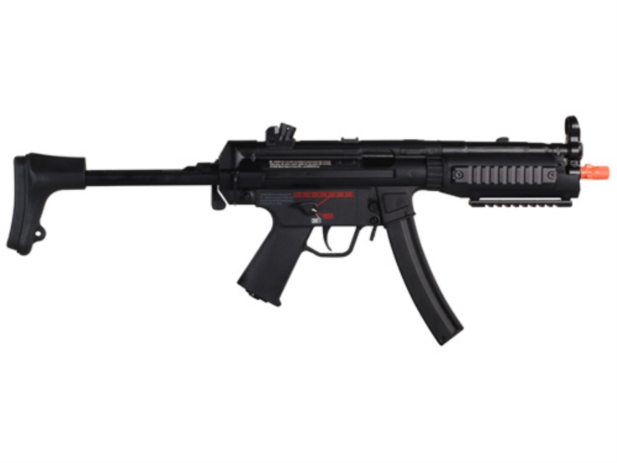 HK MP5 A5 Tac Airsoft Rifle 6mm Electric Semi/Full-Automatic Polymer Black