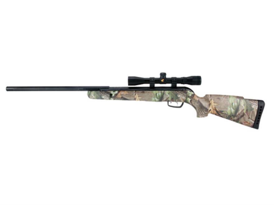Gamo Rocket IGT Air Rifle 177 Caliber Pellet Realtree Hardwoods HD Camo Blued Synthetic Stock Barrel with Gamo Airgun Scope 4x32mm Matte