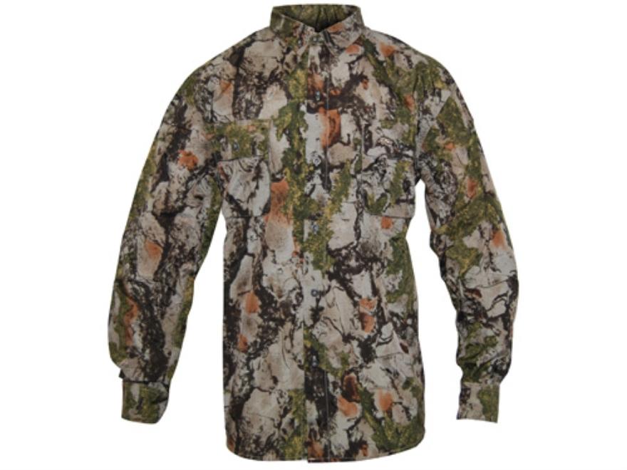 Natural Gear Men's Vented Lightweight Shirt Long Sleeve Cotton/Poly Blend