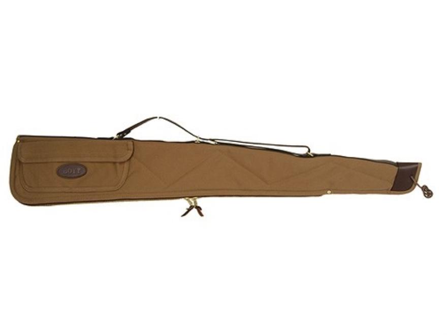 "Boyt Signature Shotgun Gun Case with Pocket 46"" Canvas Khaki"