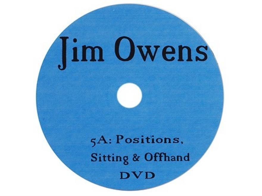 "Jim Owens Video ""Position: Sitting and Offhand"" DVD"