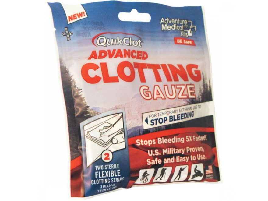 Quikclot Advanced Clotting Gauze
