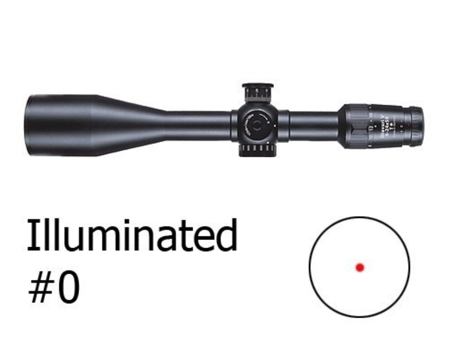 Zeiss VariPoint VM/V Rifle Scope 30mm Tube 1.5-6x 42mm First Focal Illuminated #0 Reticle Matte