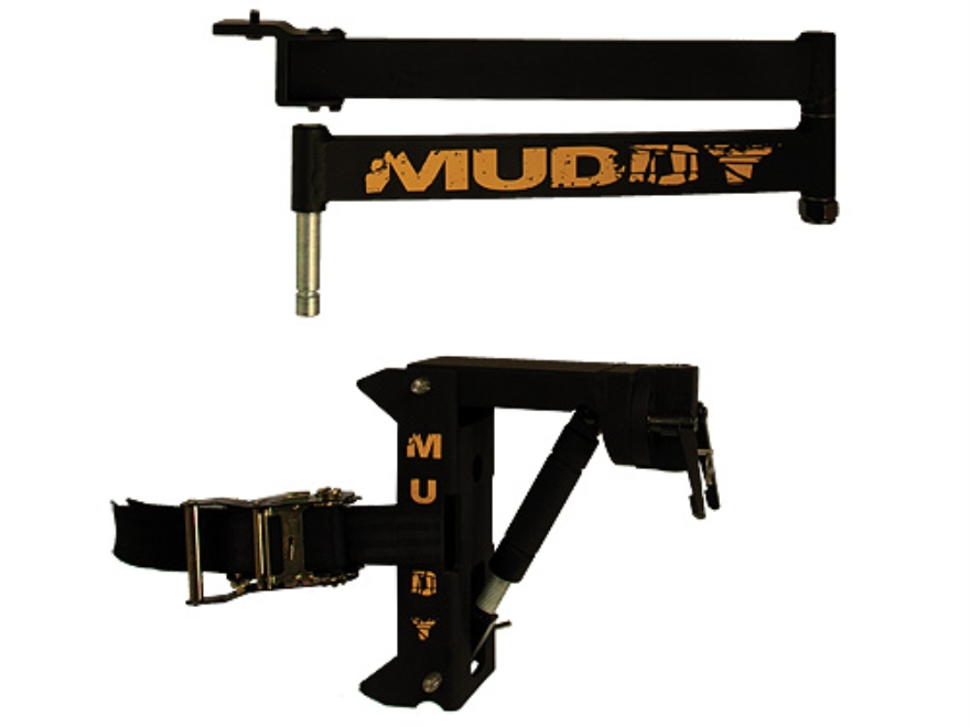 Muddy Outdoors Boss Hawg Camera Arm and Base Aluminum Black