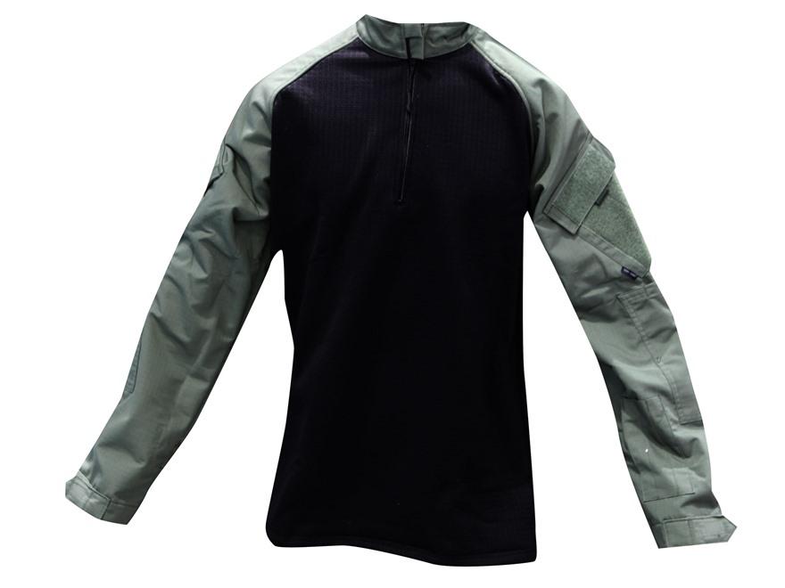 Tru-Spec 1/4 Zip Winter Combat Shirt Long Sleeve Polyester and Spandex