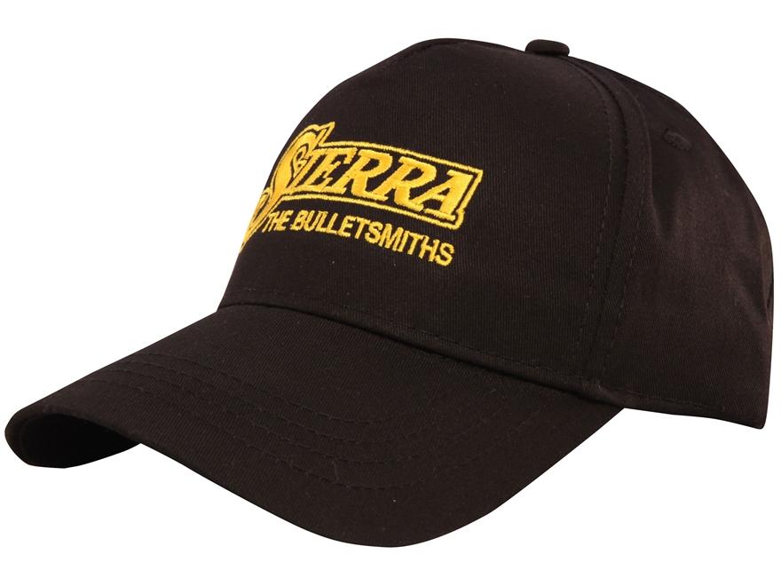 Sierra Twill Cap Black