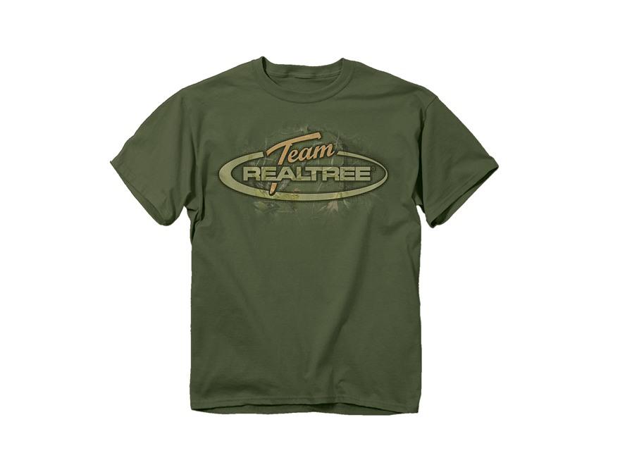 Team Realtree Men's Camo Oval Logo Short Sleeve T-Shirt