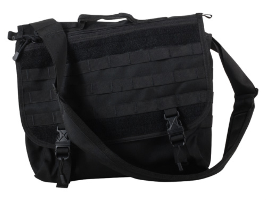Spec-Ops T.H.E. Messenger Bag Nylon Black