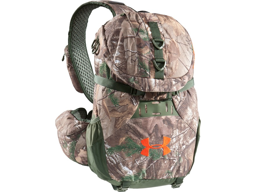 Under Armour UA Ridge Reaper Sling Backpack Polyester and Nylon Realtree Xtra Camo