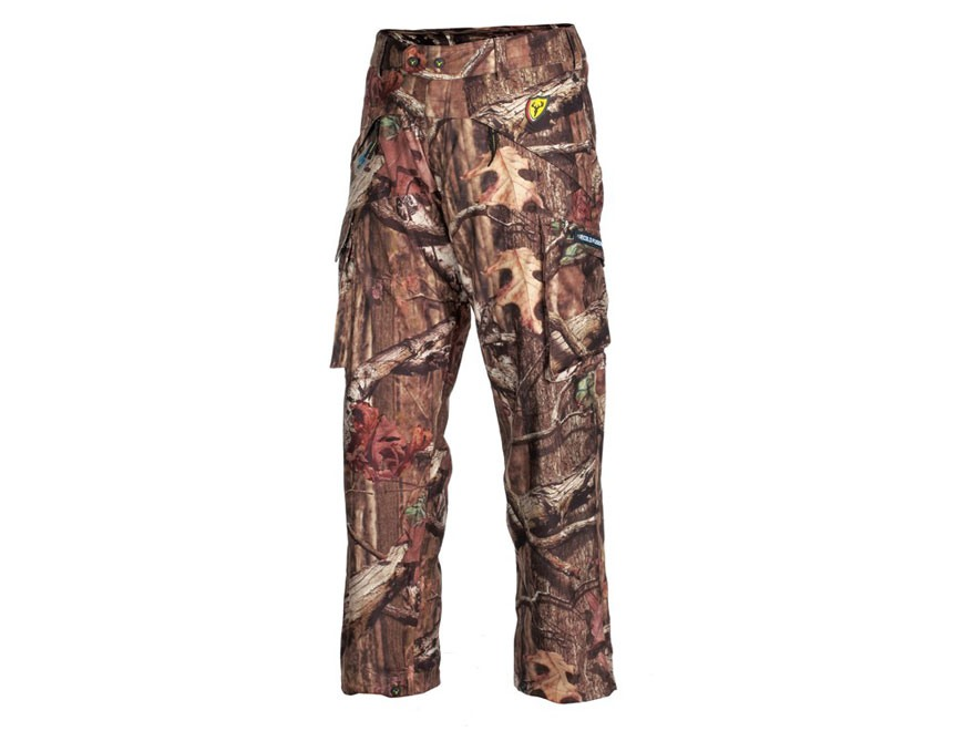 "ScentBlocker Men's Scent Control Triple Threat Waterproof Pants Polyester Realtree Xtra Camo XL 40-42 Waist 33"" Inseam"