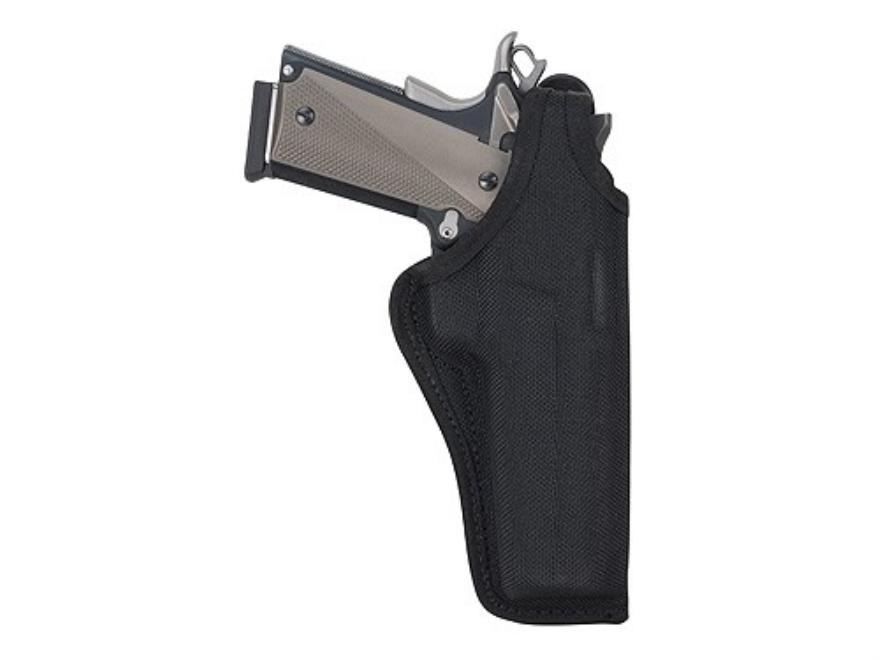 "Bianchi 7001 AccuMold Thumbsnap Holster Colt Anaconda, S&W N-Frame 4"" Barrel Nylon Black"