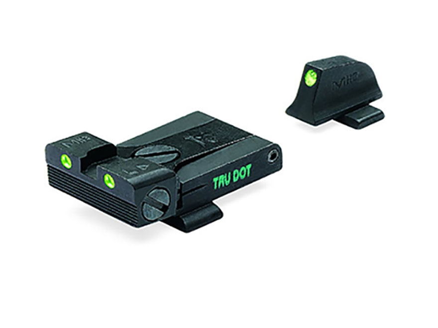 Meprolight Tru-Dot Adjustable Sight Set Sig P220, P225, P226, P228 Steel Blue Tritium Green