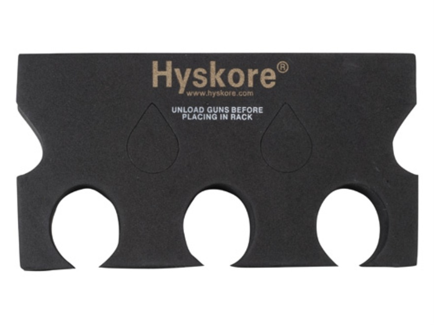 Hyskore Universal Rack Organizer and Gun Rest Foam Black