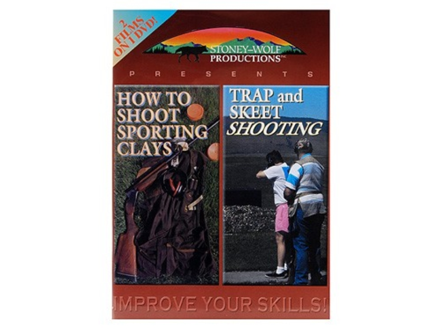"Gun Video ""How To Shoot Sporting Clays"" and ""Trap and Skeet Shooting"" 2 DVD Set"