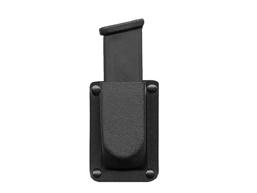 DeSantis Single Magazine Pouch 40 S&W, 9mm Double Stack Magazine Kydex Black