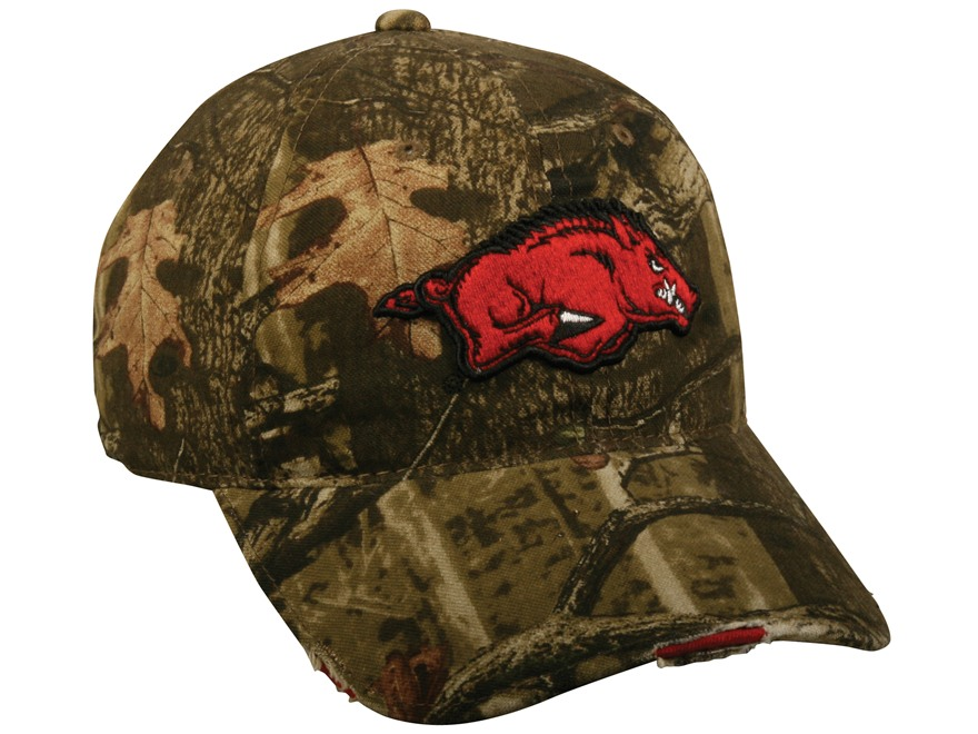 Outdoor Cap Collegiate Series Camo Logo Cap
