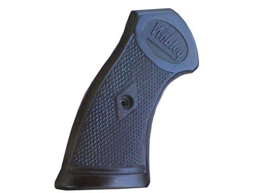 Vintage Gun Grips Webley Mark IV Revolver 38 Caliber Polymer Black