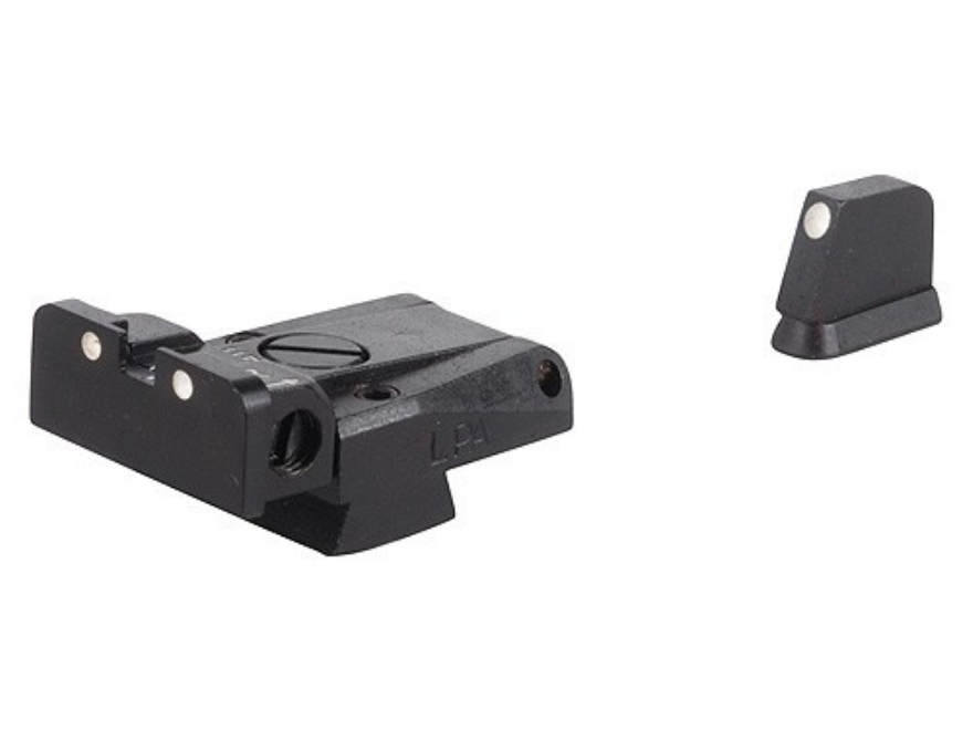 LPA SPR Sight Set CZ 75, 85 with Dovetail Front Sight Steel 3-Dot