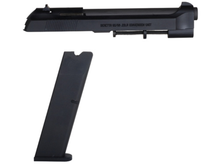 Ciener Rimfire Conversion Kit with Fixed Sights, 15-Round Magazine Beretta 92, 96 22 Long Rifle Matte