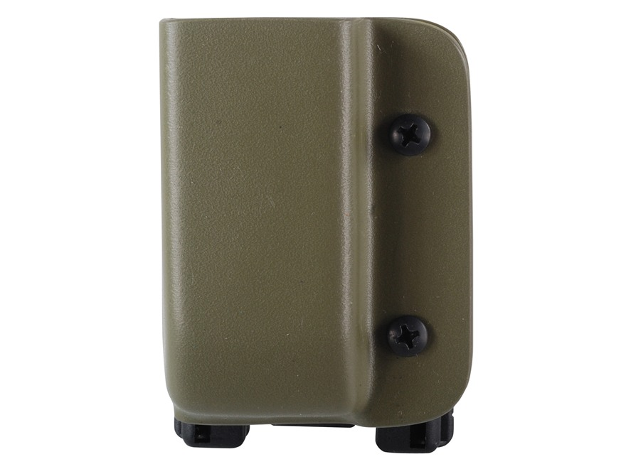 Blade-Tech Single Magazine Pouch Right Hand Double Stack Glock 9mm, 40 S&W Magazine Tek-Lok Kydex Olive Drab