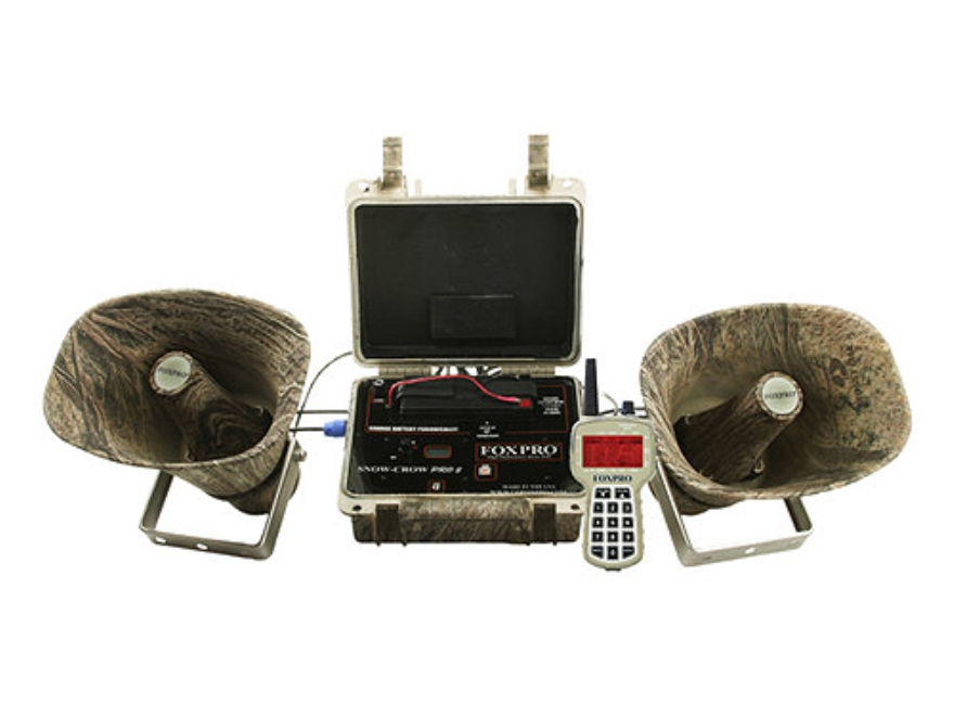 FoxPro Snow Crow II Electronic Call with 100 Sounds