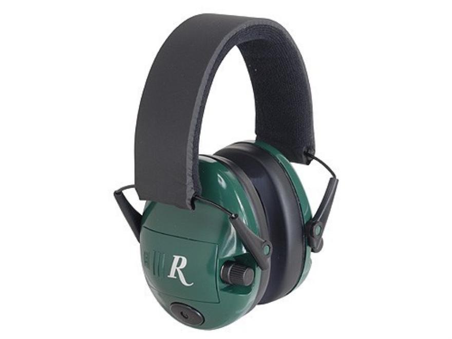 Remington Electronic R2000 Earmuffs (NRR 23 dB) Green