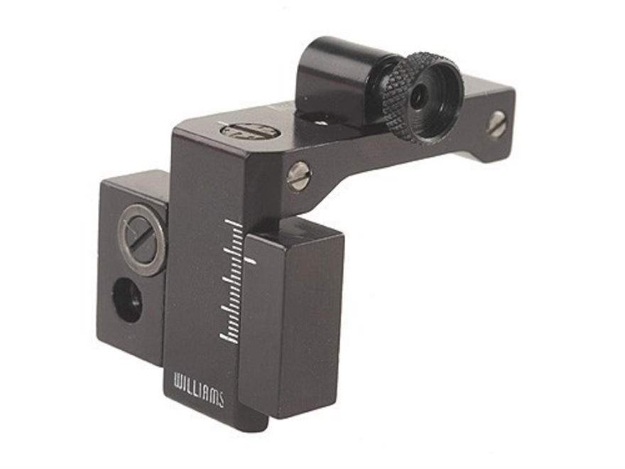 Williams FP-450 Set Receiver Peep Sight with Proper Fire Sight Marlin 450 Aluminum Black